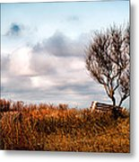 Autumn In Maine Metal Print by Bob Orsillo
