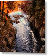 Autumn In West Paris Metal Print by Bob Orsillo