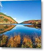 Autumn Lake Metal Print by Adrian Evans