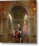 Autumn Melody Metal Print by Bedros Awak