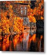 Autumn Reflections  Metal Print by Bob Orsillo
