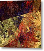Autumn Road Metal Print by Andee Design