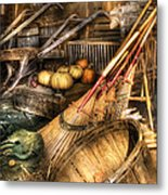 Autumn - This Years Harvest Metal Print by Mike Savad