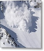 Avalanche IIi Metal Print by Bill Gallagher