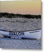 Avalon Lifeboat Metal Print by Bill Cannon