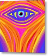 Awakening The Desert Eye Metal Print by Daina White