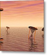 Awash In Time Metal Print by Jerry McElroy