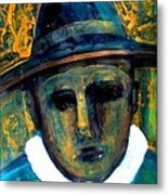 Baby Face Nelson Metal Print by Aquira Kusume