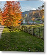 Back Roads Metal Print by Bill Wakeley
