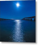 Bahia Moonrise Metal Print by Dan Vidal