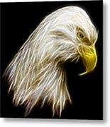 Bald Eagle Fractal Metal Print by Adam Romanowicz