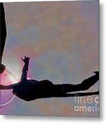Ballerina On Point Metal Print by Tom Gari Gallery-Three-Photography
