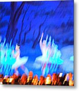 Ballet Dancers Abstract. Metal Print by Oscar Williams