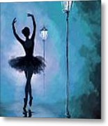 Ballet In The Night  Metal Print by Corporate Art Task Force