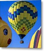 Ballooning Metal Print by Garry Gay