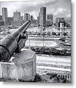 Baltimore Inner Harbor Skyline Metal Print by Olivier Le Queinec