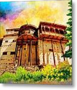 Baltit Fort Metal Print by Catf