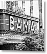 Bama Metal Print by Scott Pellegrin