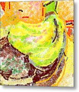 Bananas From Paphos 2 Metal Print by Anita Dale Livaditis