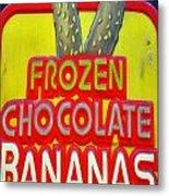 Bananas Metal Print by Skip Willits