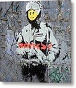 Banksy  Metal Print by A Rey
