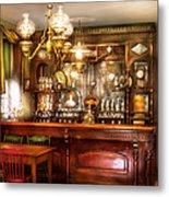 Bar - Bar And Tavern Metal Print by Mike Savad