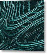 Barbed Metal Print by John Edwards