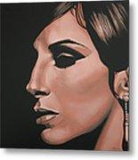 Barbra Streisand Metal Print by Paul Meijering