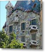 Barcelona Spain Metal Print by Gregory Dyer