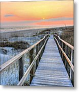 Barefoot Metal Print by JC Findley