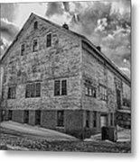 Barn At Amhi   7k00333 Metal Print by Guy Whiteley