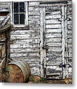 Barn Door Metal Print by Armando Picciotto
