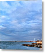 Barnegat Lighthouse Metal Print by Olivier Le Queinec