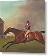 Baronet With Sam Chifney Up Metal Print by George Stubbs