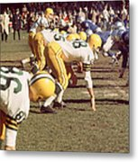 Bart Starr  Metal Print by Retro Images Archive