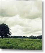 Bartow Highway Metal Print by Laurie Perry