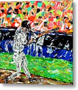 Bases Loaded  Metal Print by Mark Moore