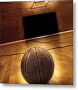 Basketball And Success Metal Print by Lane Erickson