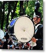 Bass Drums On Parade Metal Print by Susan Savad