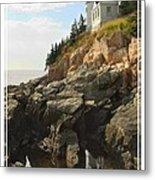Bass Harbor Head Lighthouse Metal Print by Mike McGlothlen