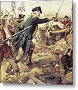 Battle Of Bennington Metal Print by Frederick Coffay Yohn