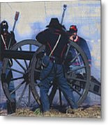 Battle Of Franklin - 1 Metal Print by Kae Cheatham