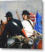 Battle Of Franklin - 2 Metal Print by Kae Cheatham