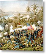 Battle Of Qusimas Metal Print by Kurz and Allison