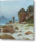 Bay Of Monterey Metal Print by Albert Bierstadt