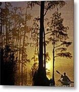 Bayou Sunrise Metal Print by Lianne Schneider