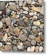 Beach Rocks Metal Print by Artist and Photographer Laura Wrede