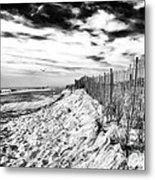 Beach Side Cape May Metal Print by John Rizzuto