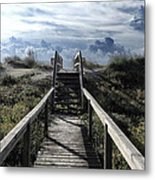 Beautiful Day At Cape Hatteras Metal Print by Patricia Januszkiewicz