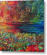 Beautiful Day Metal Print by Teresa Wegrzyn